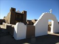 Image for San Geronimo Church (from the left side) - Taos, NM