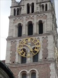 Image for Uhr an der Kirche St. Maximilian  - München - By - Germany