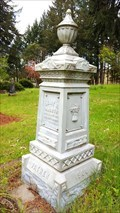 Image for Henry & Mary Mounts - Franklin Cemetery - Franklin, OR