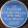 Image for Winston Churchill - Hyde Park Gate, London, UK