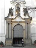 Image for Dvere baziliky / Basilica Door, Strahovsky klaster, Praha, CZ