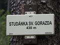 Image for 430m - studánka sv. Gorazda - Vresovice, Czech Republic