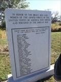 Image for McLennan County Korean War Memorial - Waco, TX