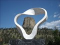Image for Devils Tower, Framed - Devils Tower, WY