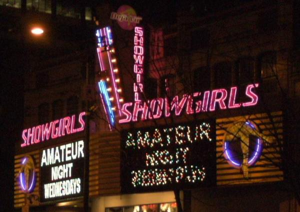 Showgirls seattle washington