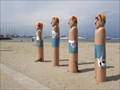 Image for Town Baths Swimmers Club Bollards - Geelong Waterfront, Victoria, AU
