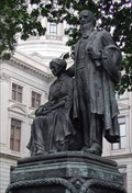 Image for Joseph E. Brown and his Wife - Ga. Capitol, Atlanta, GA