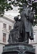 Image for Joseph E. Brown and his Wife - Ga. Capitol, Atlanta, GA