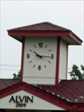 Image for Train Depot Clock Tower Pavilion - Alvin, TX