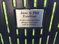 Image for Jane & Phil Esseltine Bench - Tillsonburg, ON