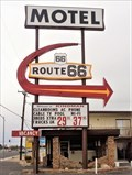 Image for Historic Route 66 - Route 66 Motel - Kingman, Arizona, USA.