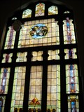 Image for Stain Glass at Garrett United Methodist Church, Garrett, Indiana