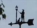 Image for Lamplighter and Dog Weathervane - Hawkestone, Ontario