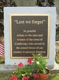 Image for Memorial Rock - Jefffersonville*, Vermont