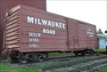 Image for Milwaukee Road Boxcar 34588