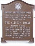 Image for Michigan Centennial Business - Clinton, Michigan, USA.