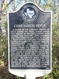 Image for Chief Samuel Benge