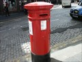 Image for Pillar Post Box - Royal Mile, Edinburgh, Scotland, UK