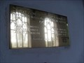 Image for WWI Commemoration Plaque, Church of St.Andrew, Wickham Skeith, Suffolk. IP14 4HX.