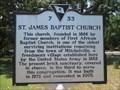 Image for St.James Baptist Church - Mitchelville, Hilton Head Island, South Carolina. USA.
