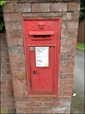 Image for Wall Mounted Post Box, Station Road, Stone, Staffordshire, UK