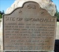 Image for CA Historical Marker: Brownsville