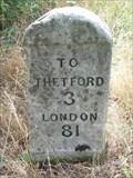 Image for Milestone - A11, Brettenham, Norfolk, UK