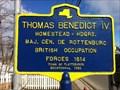 Image for Thomas Benedict IV - Plattsburgh - New York