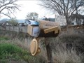 Image for Wood Log Mailbox - Richfield, UT
