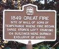 Image for 1849 Great Fire - Owego, NY