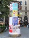 Image for Maximilianstraße Advertising Column - München, Germany