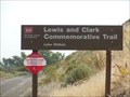 Image for Lewis and Clark overland trail eastward.