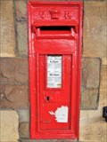 Image for VR Post Box - Llanelli Railway Station - Carmarthenshire, Wales.