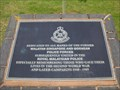 Image for Royal Malaysian Police Memorial - The National Memorial Arboretum, Croxall Road, Alrewas, Staffordshire, UK