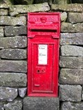 Image for Victorian Wall Post Box in Airton, North Yorkshire, UK