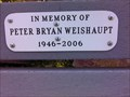 Image for Peter Bryan Weishaupt - Fruitvale, British Columbia