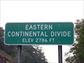 Image for Eastern Continental Divide