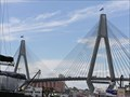 Image for Anzac Bridge. Sydney. NSW. Australia.