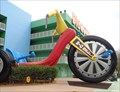 Image for Giant Big Wheel  - Pop Century Resort - Lake Buena Vista, Florida, USA