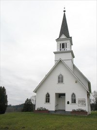 Little White Church On The Hill Country Churches On