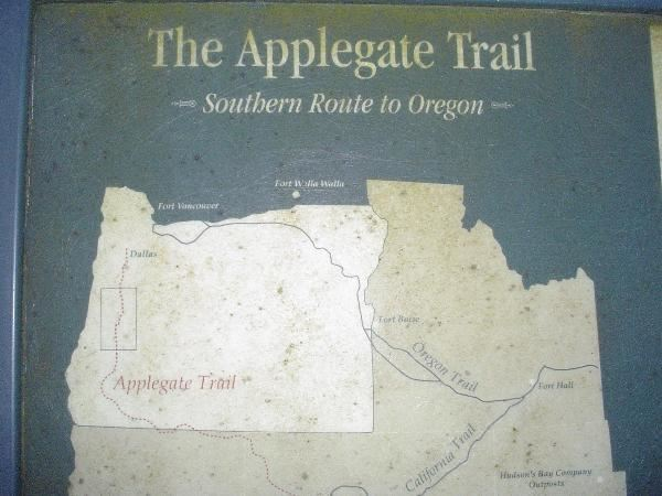 map of oregon trail route. This route offered emigrants