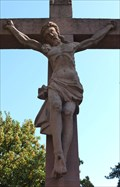 Image for Jesus at the Adenauerallee, Oberursel - Hessen / Germany