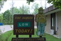 Image for Smokey Bear-Allegan Fire Station
