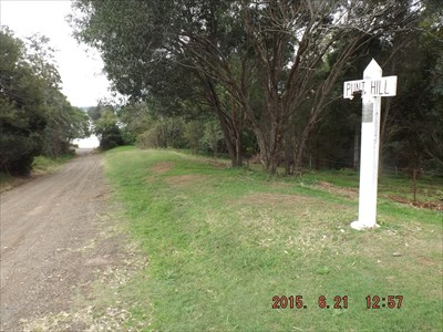 This was the access to the punt, prior to the Martin Bridge being built at Glenthorne for access to Taree.