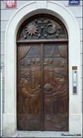 "Image for ""The Dialogues"" Door / Dvere ""Dialogy"" - Mostecká street (Lesser Town of Prague)"