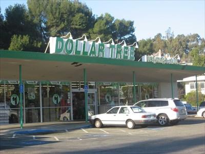 dollar tree el camino real belmont ca dollar stores on. Black Bedroom Furniture Sets. Home Design Ideas
