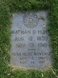 Image for Nathan B. Hunt - Greenwood Cemetery - Fort Worth, TX