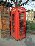 Image for Red Telephone Box - Forest Road, London, UK