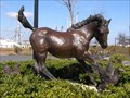 Image for Misty of Chincoteague Bronze Statue - Downtown Chincoteague, VA