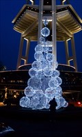 Image for Space Needle Holiday Lights - Seattle, WA
